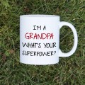 Kubek I'm a grandpa, what's your superpower standardowy 330 ml