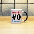 Kubek World's #0 Programmer magiczny 330 ml