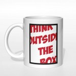 Think outside the box kubek
