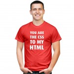 You are the CSS to my HTML koszulka