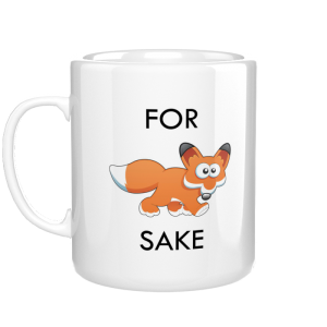 For Fox Sake kubek