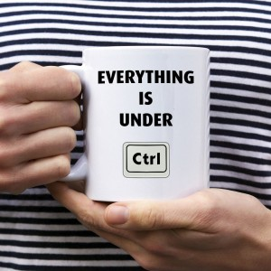 Everything is under CTRL kubek