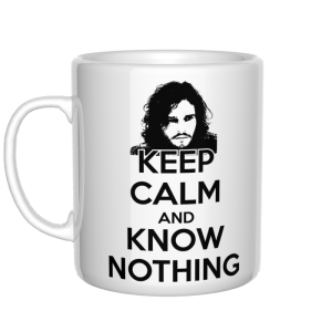 Keep Calm and Know Nothing kubek