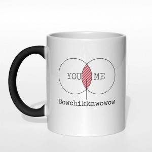 You and Me = Bowchikkawowow kubek