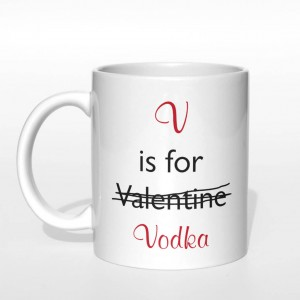 V is for Vodka kubek