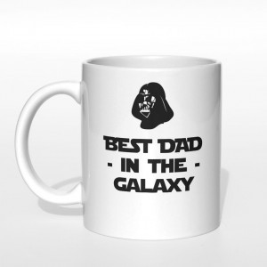 Best Dad in the galaxy kubek