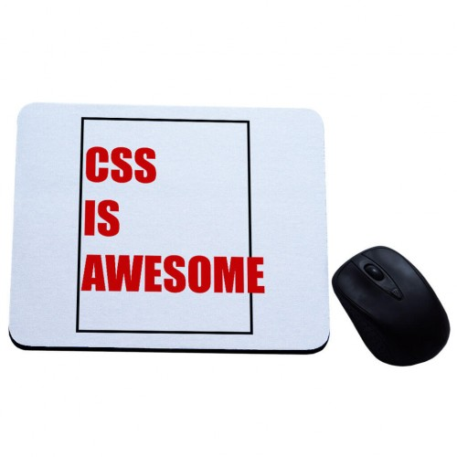 Css is awesome podkładka pod mysz