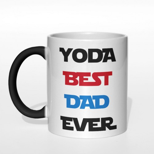 Kubek Yoda Best Dad Ever magiczny 330 ml