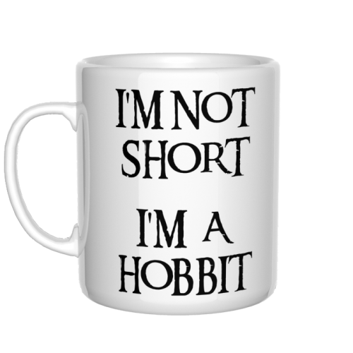 kubek I'm not short, I'm a Hobbit
